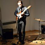 Koncert skupiny Palermo (vernisáž výstavy Romana Štětiny) (foto: archiv galerie)
