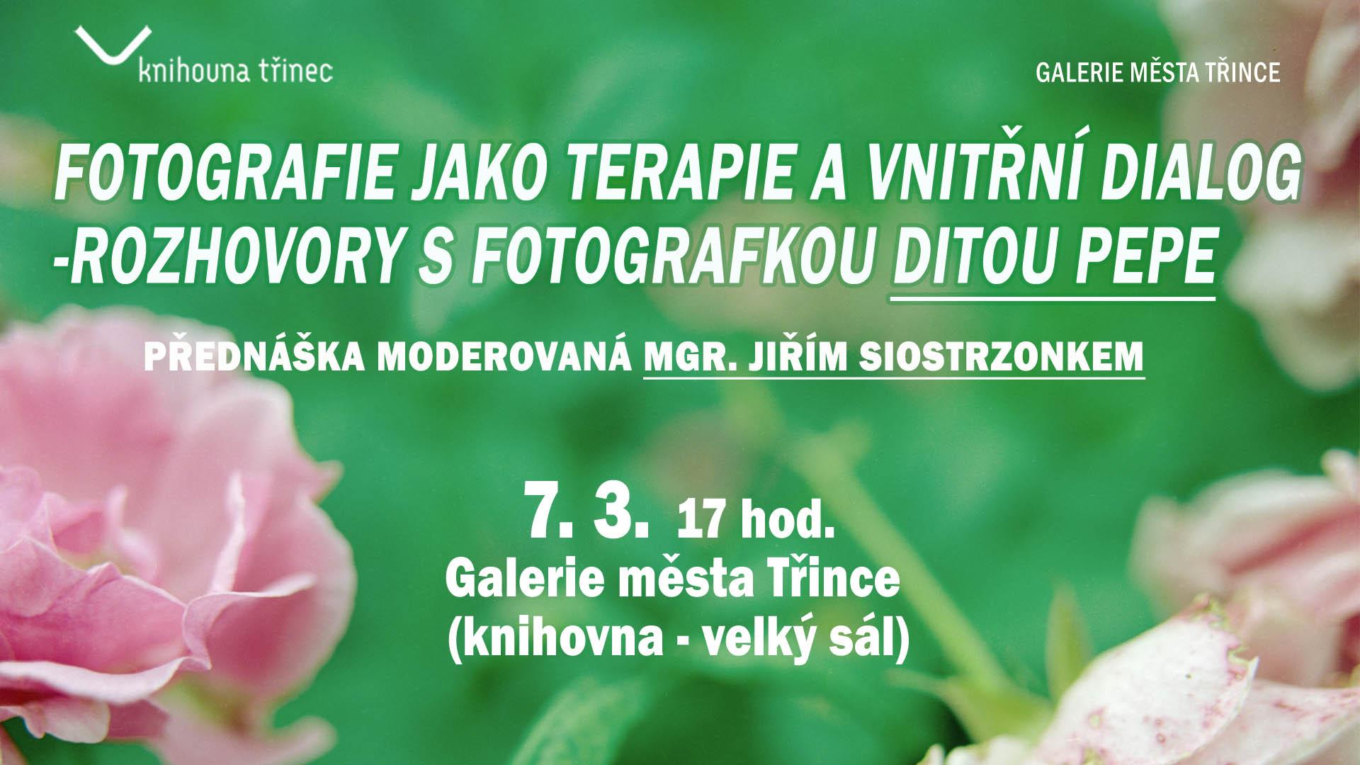 Fotografie jako terapie a vnitřní dialog – rozhovory s fotografkou Ditou Pepe