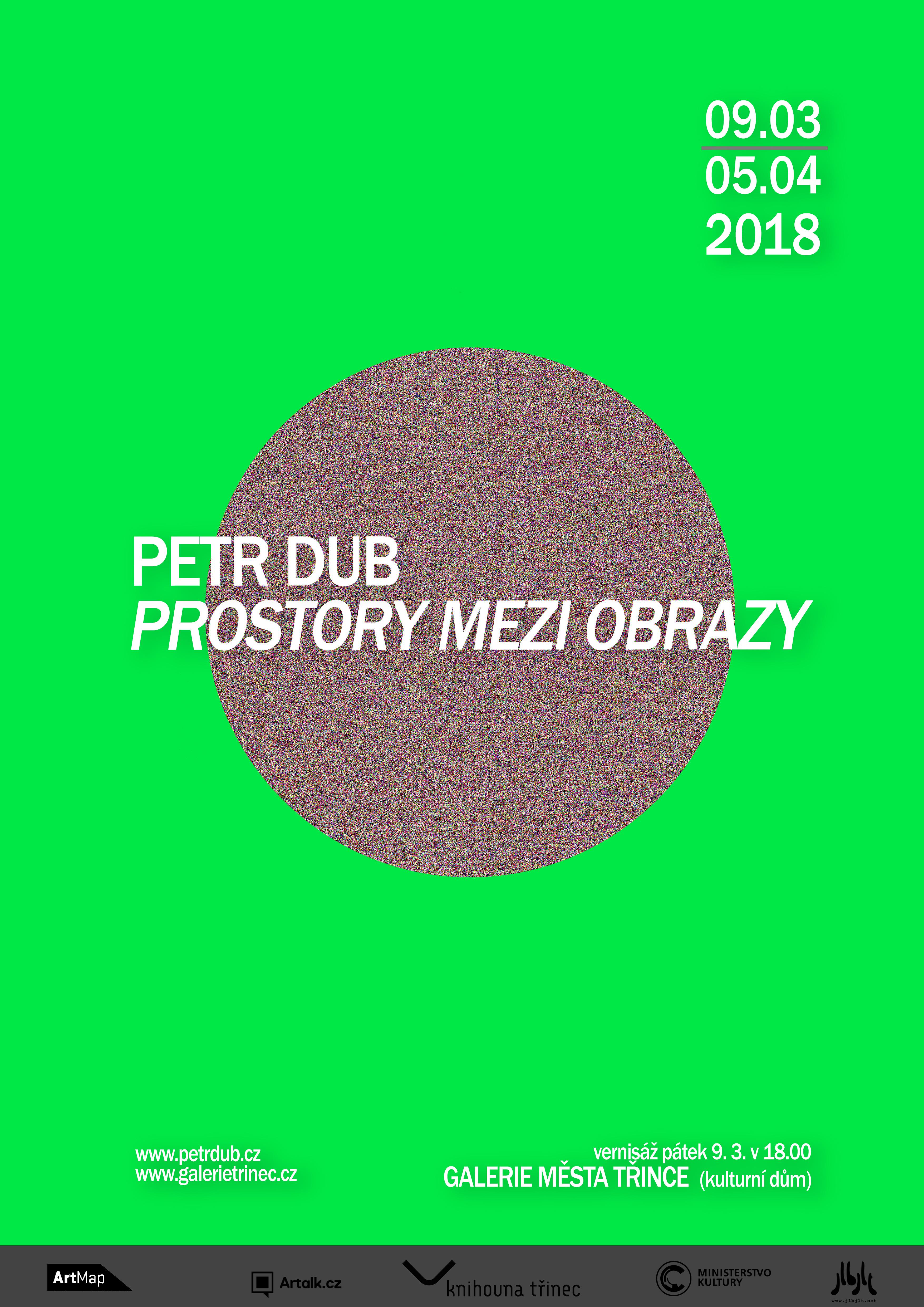 Petr Dub: Prostory mezi obrazy