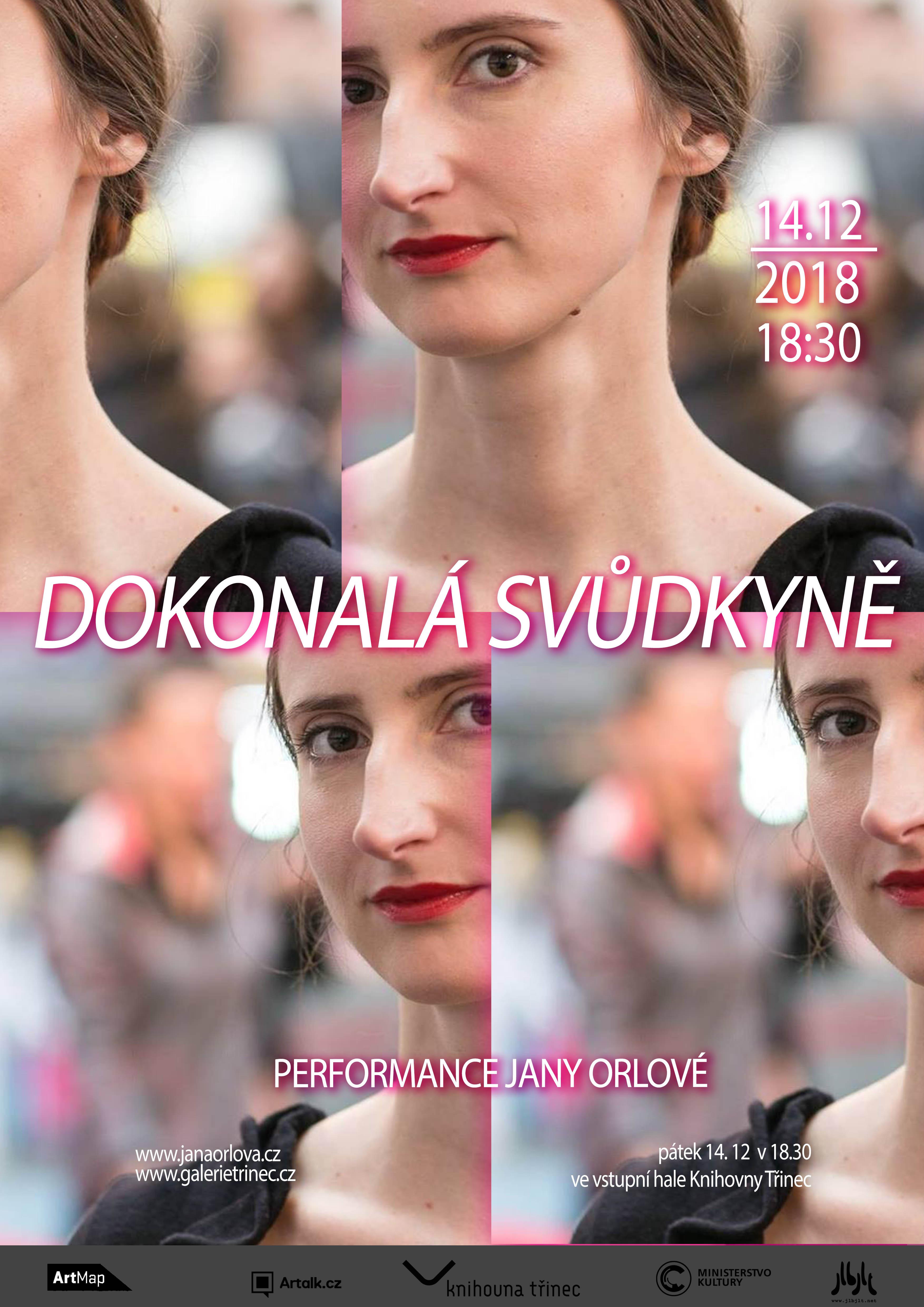 """Performance: Jana Orlová """"Dokonalá svůdkyně"""""""