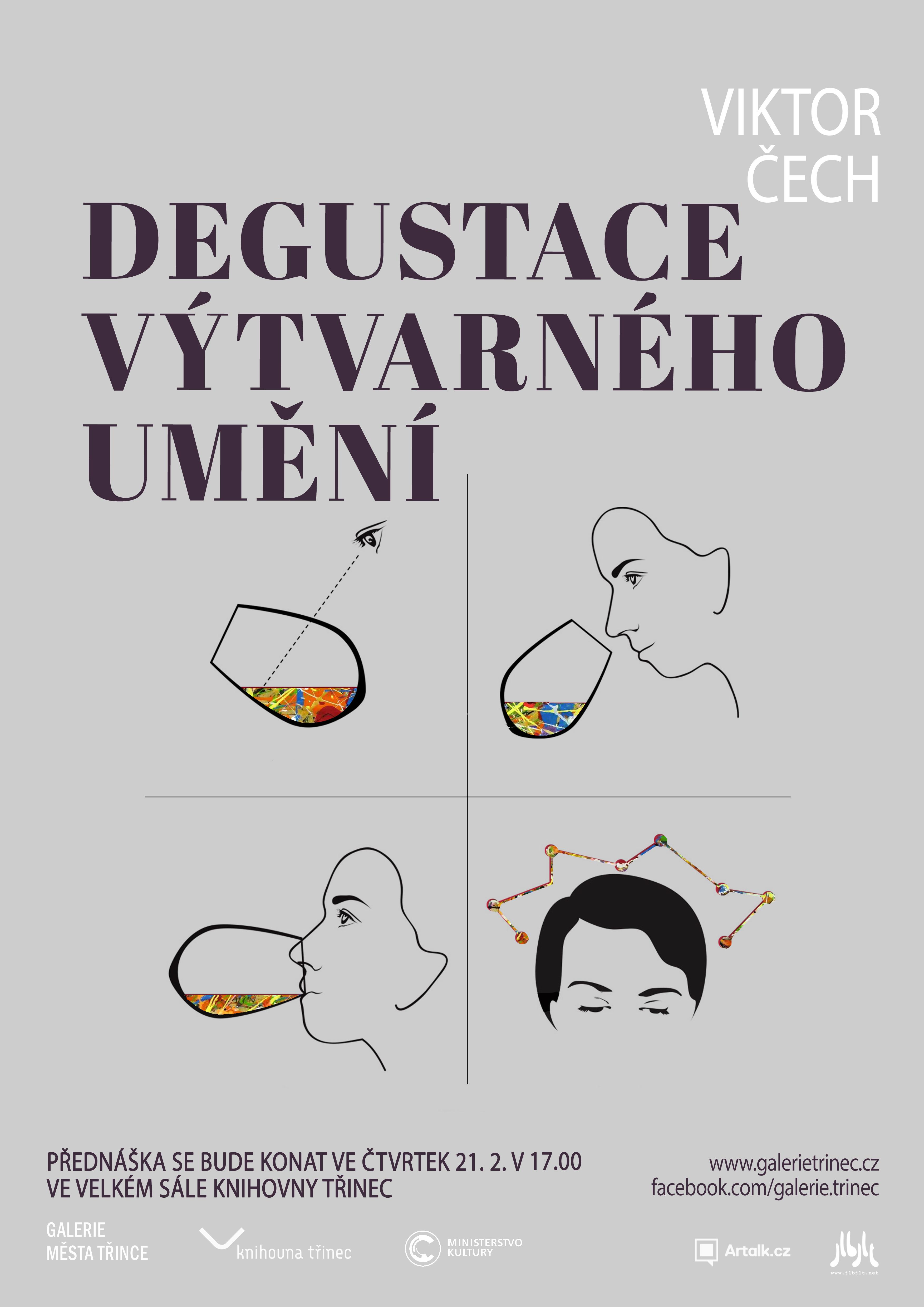 Přednáška: Viktor Čech: Degustace výtvarného umění