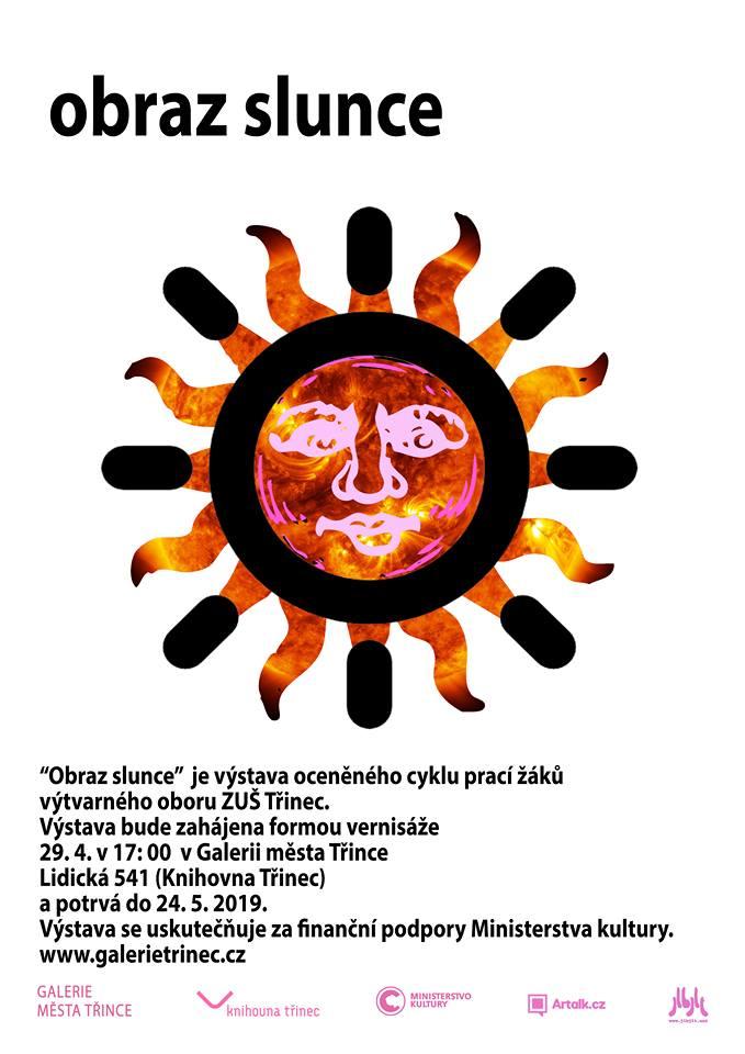 Výtvarný obor ZUŠ: Obraz Slunce