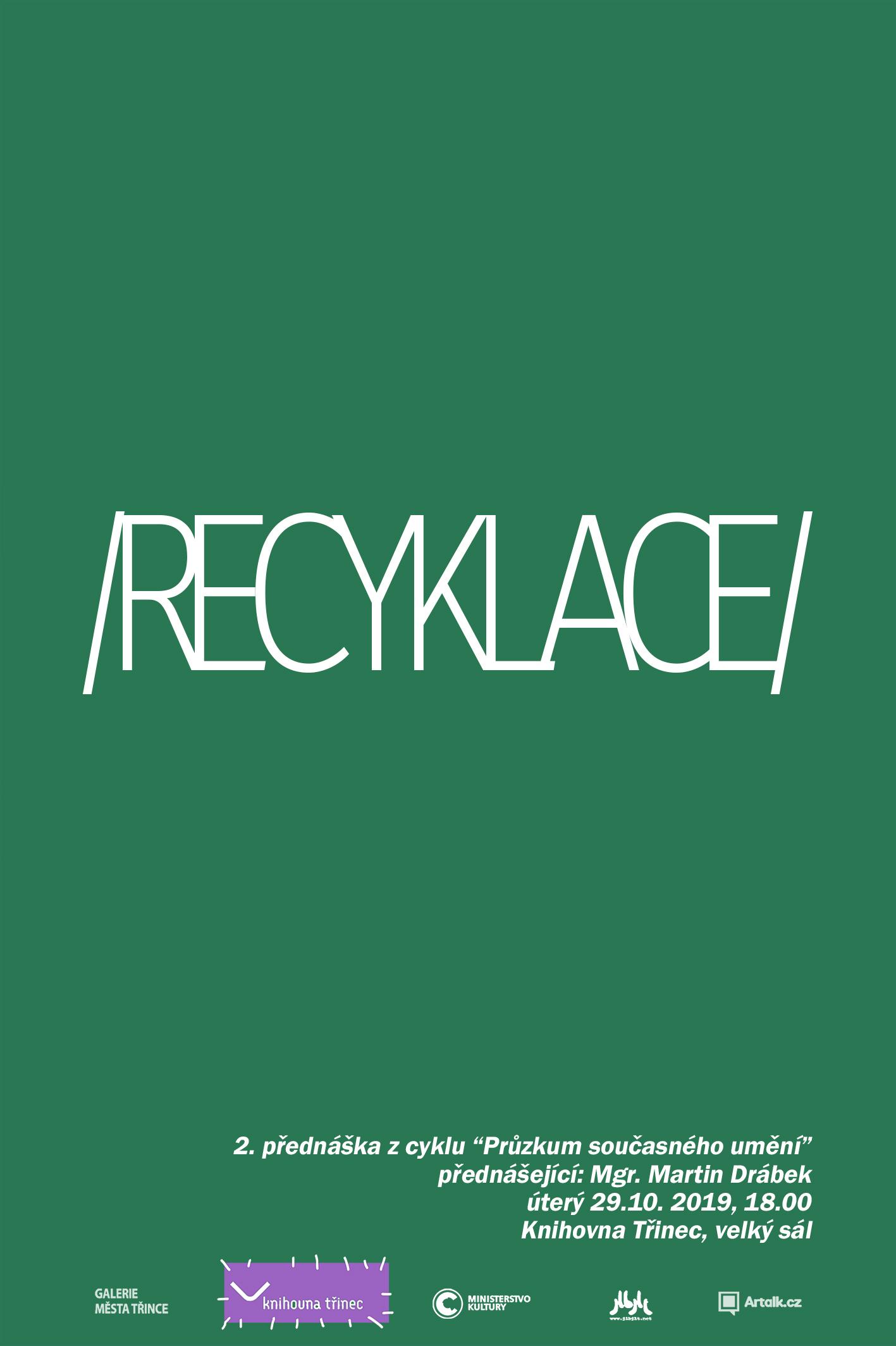 """Přednáška """"Recyklace"""""""